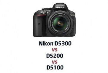 Nikon D5300 vs D5200 vs D5100: confronto