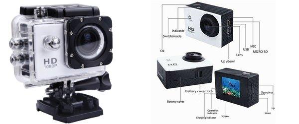 SJ4000 Action Cam economica subacquea