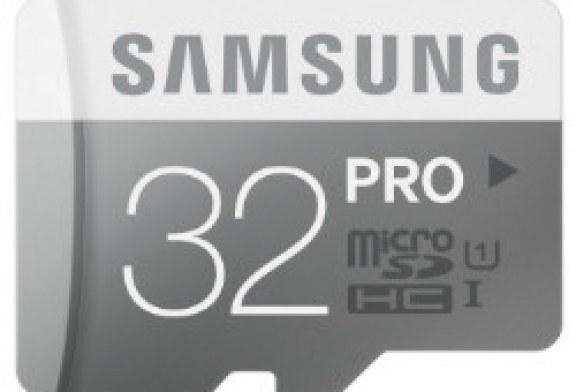 Samsung microSD PRO 32GB (MB-MG32D/EU): Recensione