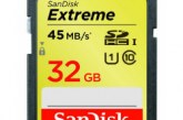 Sandisk Extreme SDHC 32 GB 45 MB/s Classe 10 UHS-1