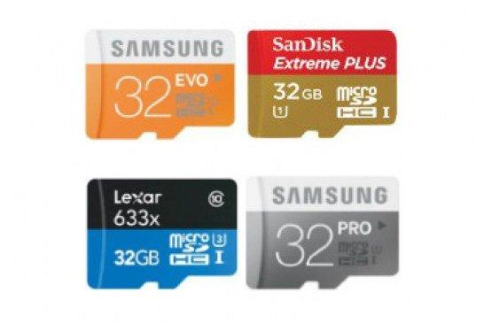 Schede Micro sd da 32GB, quali le migliori?