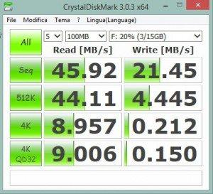 Lexar 16GB-2 benchmark