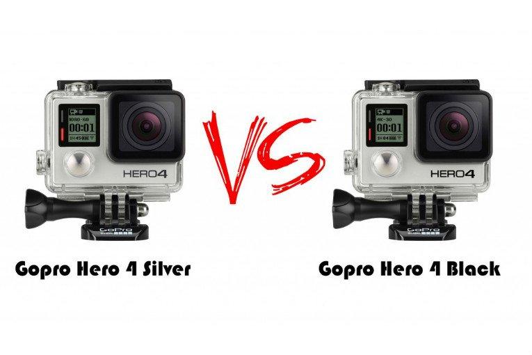 GoPro HERO 4 Black vs Silver: quale scegliere?