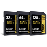 Novità in casa Lexar: CF da 3600x e SD 2000x a 128GB