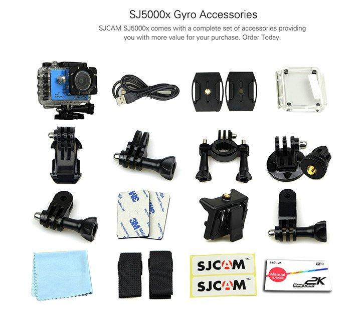 SJ5000X-accessories
