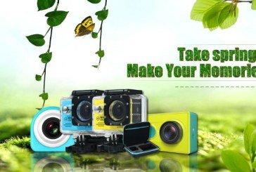Ottimi sconti da Gearbest su Action Cam e accessori