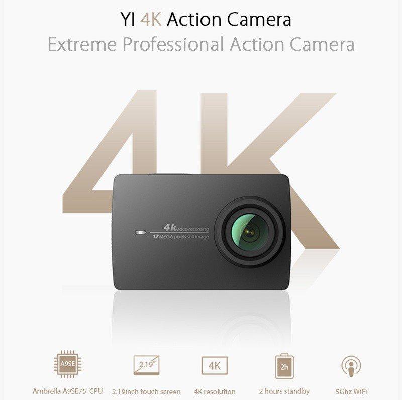 Xiaomi YI 4k - recensione Action Cam 4K con stabilizzatore