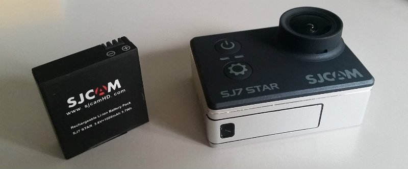 Batteria SJ7 star