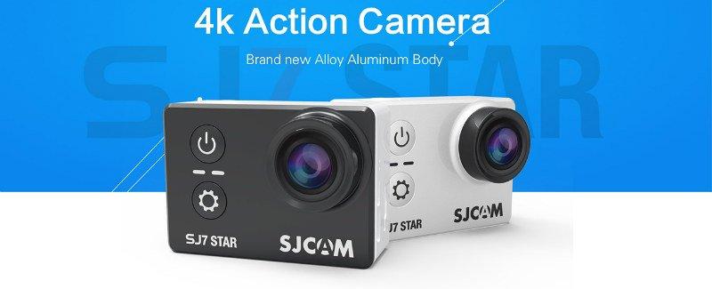 SJcam SJ7 star - recensione e prove video 4K