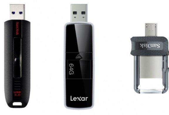 Le migliori chiavette USB 3.0 e le pendrive più economiche del 2017