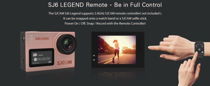 SJ6_Legend_Remote2 Recensione SJ6 Legend