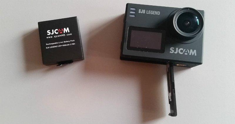 SJ6_Legend_battery Recensione SJ6 Legend