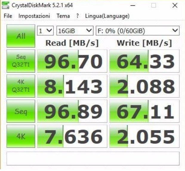 Samsung_Evo_benchmark Migliori schede Micro SD del 2019
