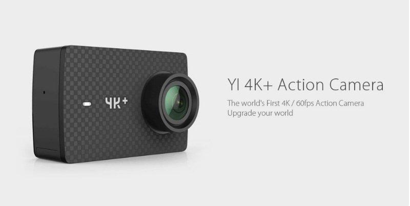 Yi 4K+ plus vs Yi 4k: action cam 4K a 60fps