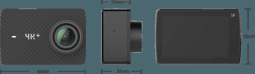 Recensione yi 4k plus action cam 4k 60fps for Microfono esterno xiaomi yi