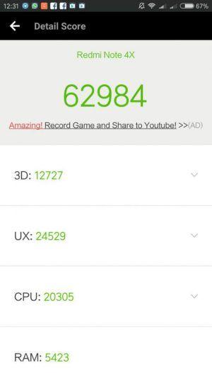 xiaomi-redmi-note-4x-antutu1 Recensione Xiaomi Redmi Note 4X