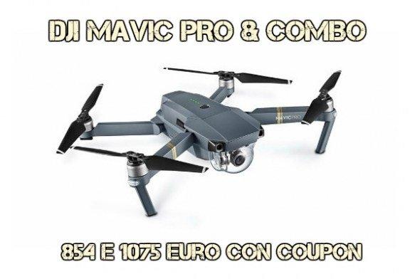 Mavic Pro al miglior prezzo del web: 894€ senza dogana