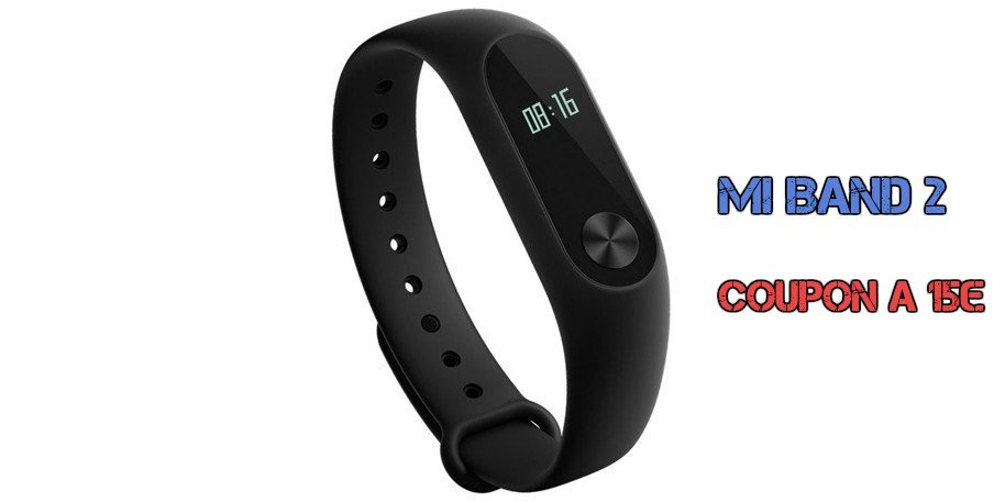 Coupon per Mi band a 15€ e altri sconti da Cafago