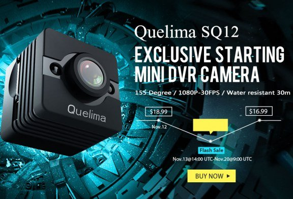 Quelima SQ12 mini camera