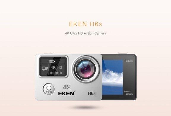 Recensione Eken H6s action cam 4k economica con stabilizzatore e telecomando