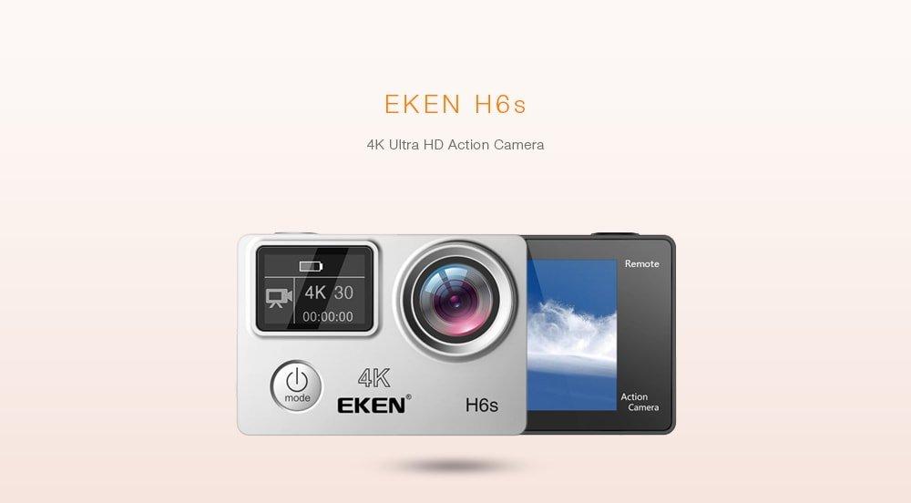 Recensione-Eken-H6s Recensione Eken H6s action cam 4k economica con stabilizzatore e telecomando
