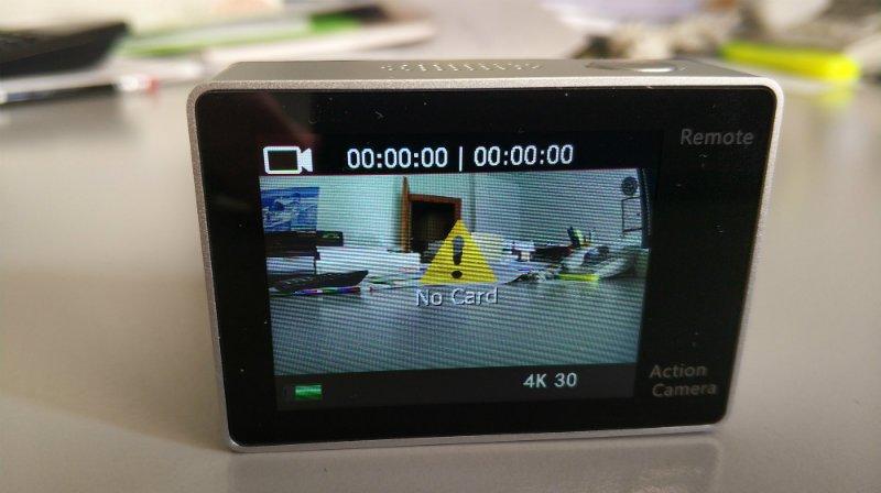 recensione-Eken-H6s-schermo Recensione Eken H6s action cam 4k economica con stabilizzatore e telecomando