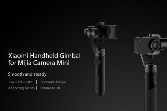 Gimbal Xiaomi Mi a 3 assi per Mi Mijia 4k