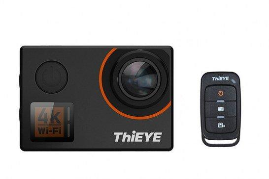 ThiEYE T5 Edge 4K con telecomando e comandi vocali