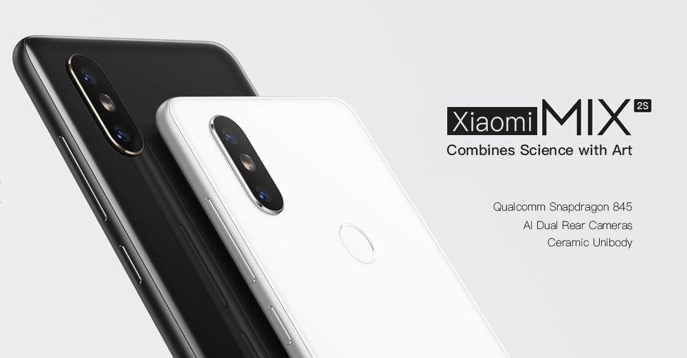 "Xiaomi-Mi-Mix2 Xiaomi MIX 2S phablet da 5.99"" e ottime prestazioni"