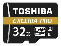 Toshiba-M501-Exceria-Pro Migliori schede Micro SD del 2019
