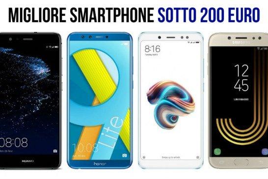 I migliori smartphone del 2018 sotto i 200 euro
